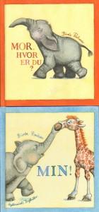 To pegebøger om en lille Elefant.