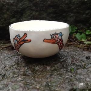 porcelæn med struds