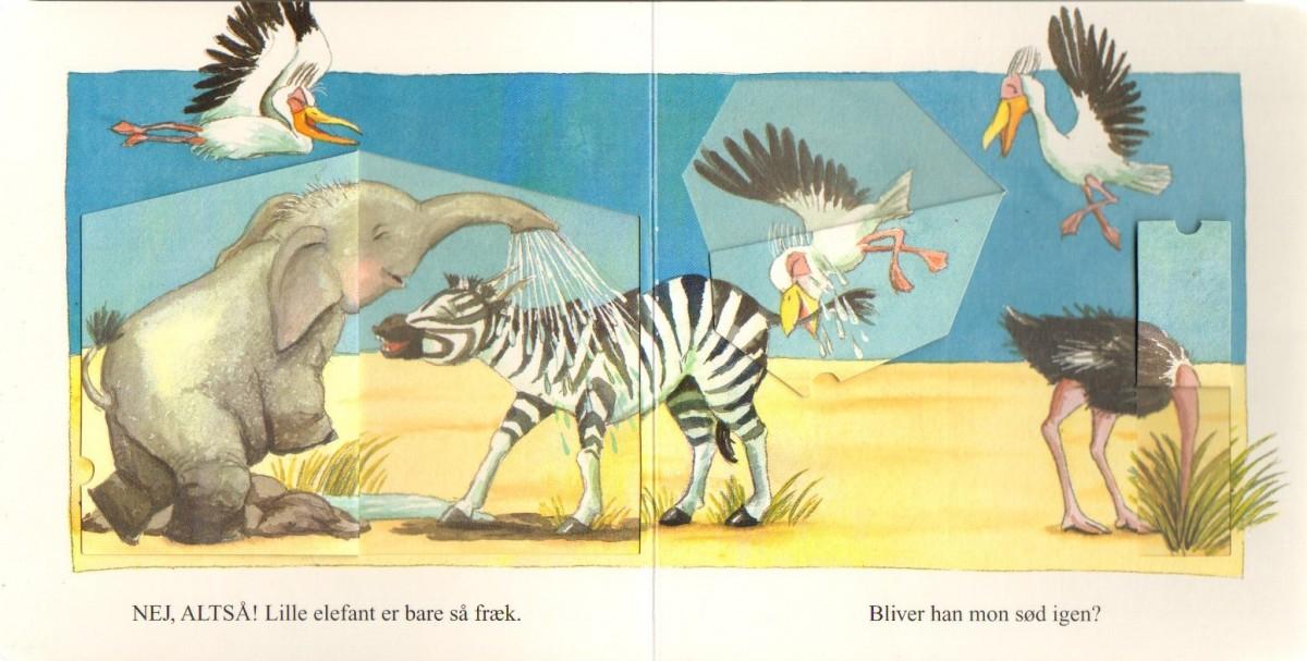 """Opslag fra """"Den lille frække elefant"""""""